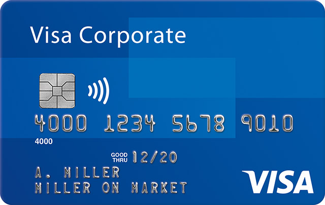 Visa Corporate Platinum Card