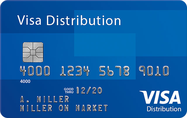 Visa Distribution Credit