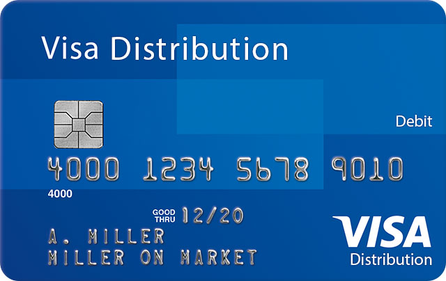 Visa Distribution Debit