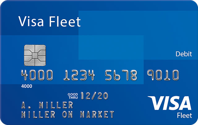Visa Fleet Debit